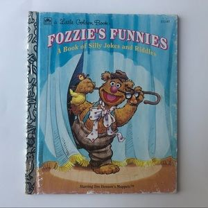 •1993 Fozzie's Funnies A Book of Silly Jokes•